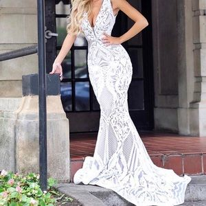 Mia Bella Couture Mermaid Gown